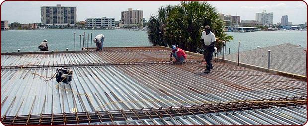 Steel Roof Decking Projects Marlyn Steel Decks Inc
